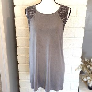 ❤️3/15 American Eagle Soft & Sexy Lace Muscle Tank